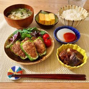 玉子焼きとピーマンの肉詰め|160.玉子焼きを美味しく・綺麗に作るコツ