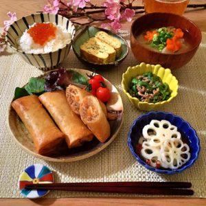 春巻き|105.料理下手でも作れる!簡単で美味しい夕食レシピ5選