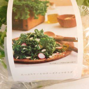 たっぷりケールのチーズナッツサラダ | 129.晩ごはんレシピ:【20分】鶏の甘酸っぱ照り焼き