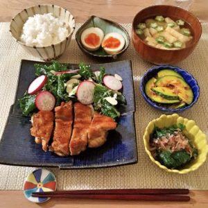盛り付け | 129.晩ごはんレシピ:【20分】鶏の甘酸っぱ照り焼き