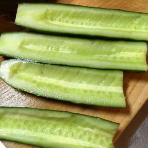 きゅうり|126.晩ごはんレシピ【30分】ペペロンチーノ、きゅうりとささみのサラダ