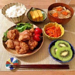 盛り付け | 133.晩ごはんレシピ :【40分】鶏の唐揚げ
