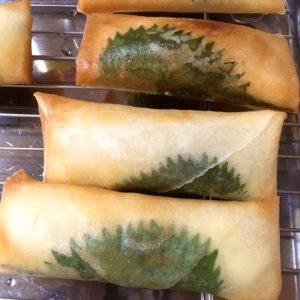 大葉とささみのチーズ春巻き②|151.晩ごはんレシピ:ささみと大葉のチーズ春巻き