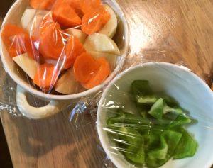 野菜をレンジでチンする|163.晩ごはんレシピ:【30分】酢鶏
